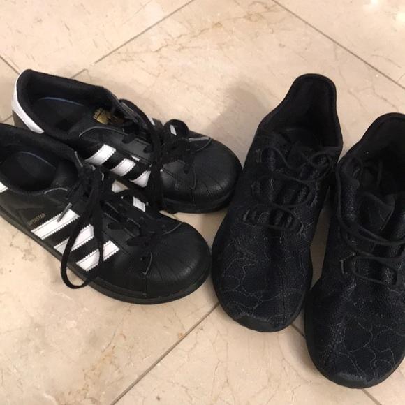 Le Adidas Di Ragazzi Giovani Di Adidas Dimensione 3 Poshmark 32b450